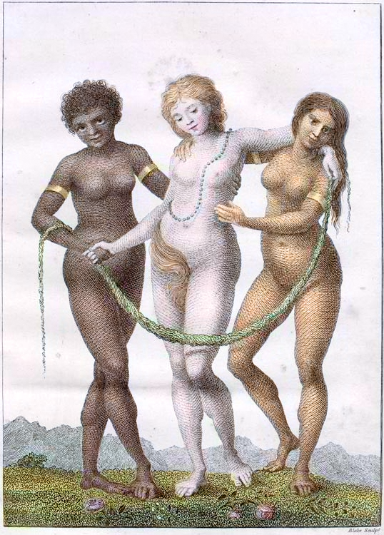 art, engraving, William_Blake-Europe_Supported_By_Africa_and_America_1796