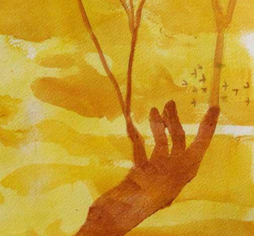 Gaia's Garden, detail 2
